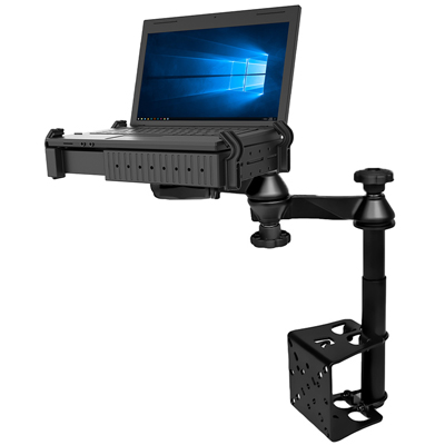 RAM-VB-184T-SW1 - RAM Vertical Drill-Down Laptop Mount