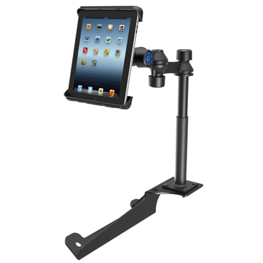 RAM-VB-185-TABL3-SK - RAM No-Drill iPad 1-4 Mount for '97-16 Ford F-250 - F750 + More