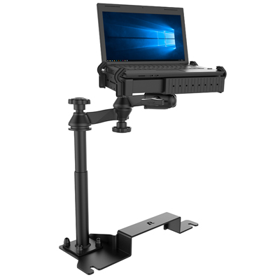 RAM-VB-187-SW1 - RAM No-Drill Laptop mount for '11-19 Ford Explorer + More