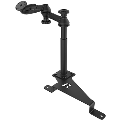 RAM-VB-195-SW2 - RAM No-Drill Mount for '17-21 Ford F-250 - F-550 + More