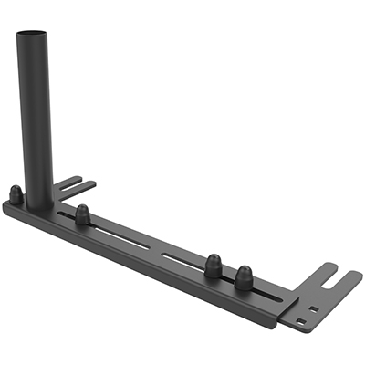 RAM-VB-196-1 - RAM No-Drill Universal Vehicle Base with Reverse Configuration