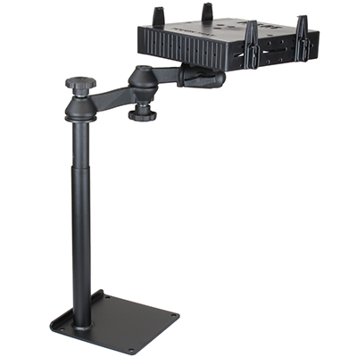 RAM-VBD-125-SW1-FL - RAM Universal Drill-Down Horizontal Laptop Mount with Flat Arms