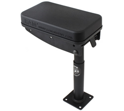 "RAM-VC-ARM1-7 - RAM Tough-Box Console Telescoping Armrest with 7"" Lower Pole"