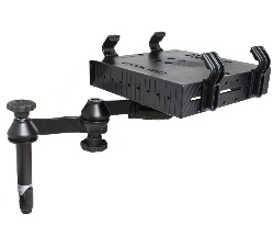 "RAM-VP-SW1-4-234-3 - RAM Tough-Tray with Double Swing Arms and 4"" Upper Pole"