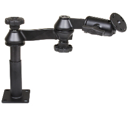 "RAM-VP-SW1-45 - RAM DBL SWING ARM 4"" MALE 5"" FEMALE"