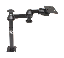 "RAM-VP-SW1-89-2461 - RAM Tele-Pole with 8"" & 9"" Poles, Swing Arms & 75x75mm VESA Plate"
