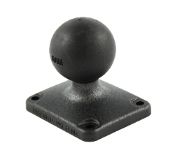 "RAP-202U-225 - UNPKD. 2"" X 2.5"" DIA BASE WITH 1.5"" BALL"
