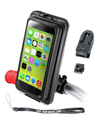 RAP-274-1-AQ7-2-I5 - RAM EZ-ON/OFF™ Bicycle Mount with AQUA BOX® Pro 20 i5 Case, CRADLE CLIP, BELT CLIP, BELT CLIP BUTTON and LANYARD for the iPhone 5, 5c & 5s WITHOUT CASE, SKIN OR SLEEVE