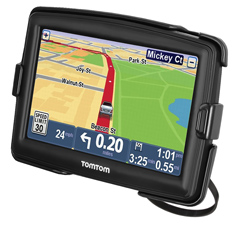 RAP-274-1-TO10U - RAM EZ-On/Off Bicycle Mount for TomTom Start 55, XXL 540 + More