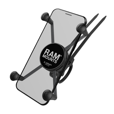 RAP-274-1-UN10 - RAM X-Grip Large Phone Mount with RAM EZ-On/Off Bicycle Base
