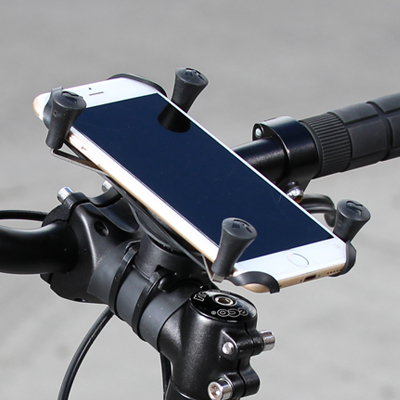 a28e5843bb659e RAM® X-Grip® Large Phone Mount with RAM® EZ-On/Off™ Bicycle Base Retail