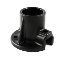 RAP-278U - RAM PVC Pipe Socket with Round Base Plate