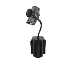 RAP-299-2-UN1U - RAM-A-CAN II Cup Holder Mount with Universal Phone Holder