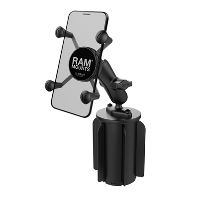RAP-299-3-UN7BU - RAM X-Grip Phone Mount with RAM-A-CAN II Cup Holder Base