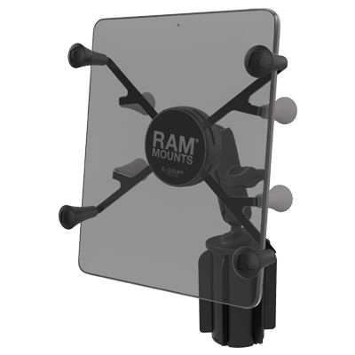 "RAP-299-3-UN8U - RAM X-Grip with RAM-A-CAN II Cup Holder Mount for 7""-8"" Tablets"