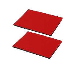 RAP-300-1SU - RAM 2-Pack Steel Rectangle Adhesive Plates for RAM Power-Plate