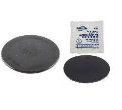 "RAP-350-35BU - RAM Black 3.5"" Adhesive Plate for Suction Cups"