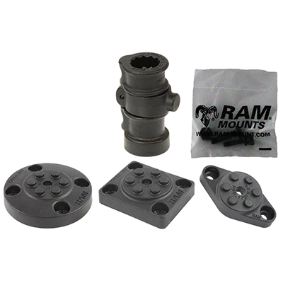 RAP-386B-AAPU - UNPK RAM ADAPT-A-POST WITH FLEX ROD BASE