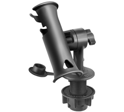 RAP-390-SFMTU - RAM TUBE JR ROD HOLDER W SHT ROUND FLUSH