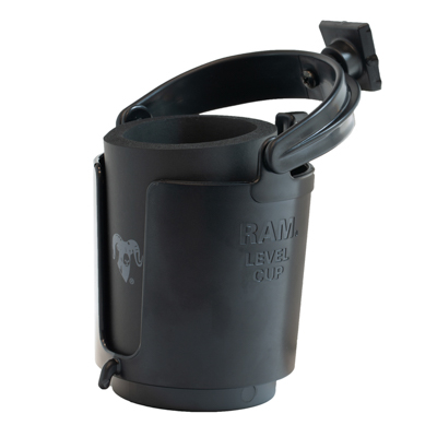 RAP-395W-132U - RAM STACK-N-STOW BAIT BD SIDE CUP HOLDER
