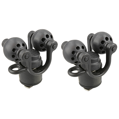RAP-412-2 - RETAIL RAM 2 PACK ROLLER-BALL PADDLE AND ACCESSORY HOLDER