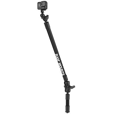 RAP-425-4-18-A-GOP1 - RAM 4 & 18 LNG CAMERA ARM W/ GOPRO ADAPT