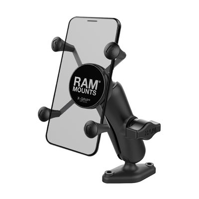 RAP-B-102-UN7U - UNPKD RAM X-GRIP HOLDER W DBL DIAMOND BASE