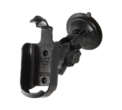 RAP-B-104-224-DEL1 - RAM Twist-Lock Suction Ratchet Mount for Delorme Earthmate PN Series
