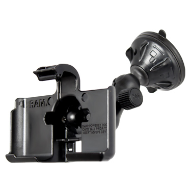 RAP-B-166-2-GA37U - RAM Twist-Lock Low Profile Suction Mount for Garmin nuvi 1690