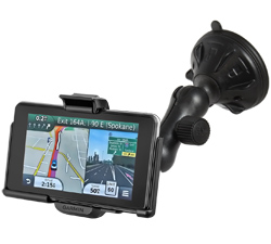 RAP-B-166-2-GA39U - RAM Twist-Lock Low Profile Suction Mount for Garmin nuvi 3450 + More