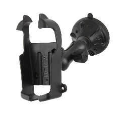 RAP-B-166-2-GA5 - RAM Twist-Lock Low Profile Suction Mount for Garmin Vista + More