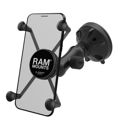 RAP-B-166-2-UN10U - UNPK RAM LG RAM X-GRIP MOUNT WITH SUCTION CUP