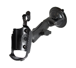 RAP-B-166-GA20 - RAM Twist-Lock Composite Suction Cup Mount for Garmin Rino 520 + More