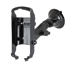 RAP-B-166-GA6 - RAM Twist-Lock Composite Suction Mount for Garmin GPS 72, 76 + More