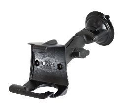 RAP-B-166-GA9U - RAM Twist-Lock Composite Suction Mount for Garmin BMW Navigator + More