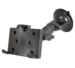 RAP-B-166-PD2U - RAM Twist-Lock Composite Suction Mount with Universal PDA Holder