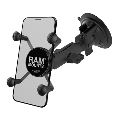 RAP-B-166-UN7U - UNPKD RAM SUCTION MOUNT RAM X-GRIP