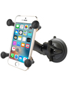 RAP-B-166-UN7U - RAM Composite Twist Lock Suction Cup Mount with Universal X-Grip® (Patented) Cell Phone Cradle