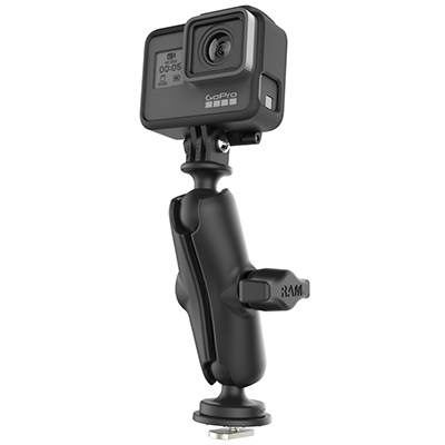 RAP-B-202-GOP1-354-TRA1U - RAM Track Ball Universal Action Camera Mount