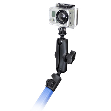 RAP-B-218-1-GOP1U - UNPKD RAM TELE-MOUNT FOR GOPRO CAMERA