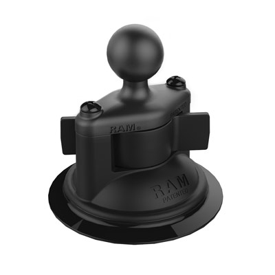 RAP-B-224-1U - RAM Twist-Lock Composite Suction Cup Base with Ball