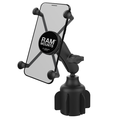 RAP-B-299-4-UN10U - RAM X-Grip Large Phone Mount with RAM Stubby Cup Holder Base