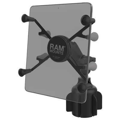 "RAP-B-299-4-UN8U - RAM X-Grip for 7""-8"" Tablets with RAM Stubby Cup Holder Base"