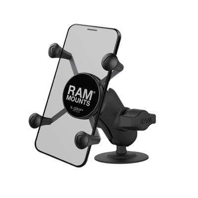RAP-B-378-A-UN7U - UNPK RAM MNT ADHSV BASE RAM X-GRIP SHORT ARM