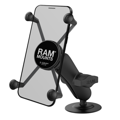 RAP-B-378-UN10U - RAM X-Grip Large Phone Mount with Flex Adhesive Base