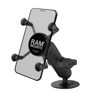 RAP-B-378-UN7U - RAM X-Grip Phone Mount with Flex Adhesive Base