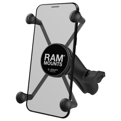 RAP-HOL-UN10B-201U - RAM X-Grip Large Phone Mount with Composite Double Socket Arm