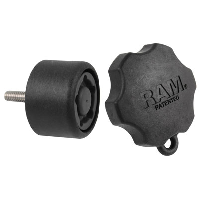RAP-S-KNOB7-5U - RAM Pin-Lock 5-Pin Security Knob for D & E Size Socket Arms