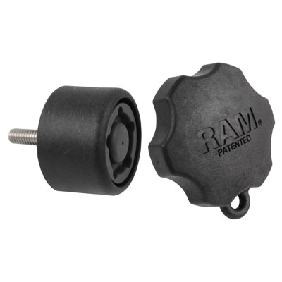 RAP-S-KNOB7U - RAM Pin-Lock Security Knob for D & E Size Socket Arms