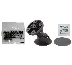 RAP-SB-178-G1U - RAM Flex Adhesive Dashboard Mount with Garmin Mounting Hardware